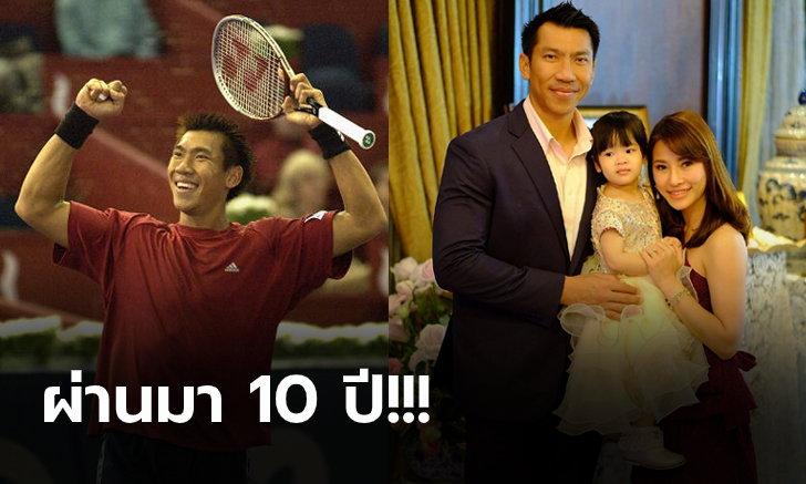 """วันนี้ของ """"ซูเปอร์บอล ภราดร"""" ตำนานนักเทนนิสไทยที่ก้าวถึงมือ 9 ของโลก"""